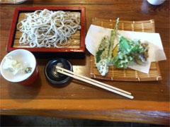 天ぷら蒸篭蕎麦 ( 十割 )