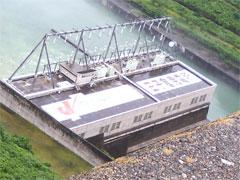 水力発電所です。