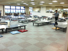 大食堂のスペースです。