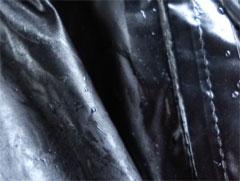 カッパの中もびしょ濡れでした。 (>_<)