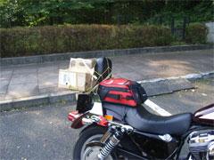AKI 〜 RA さんは荷物満載! (^^;