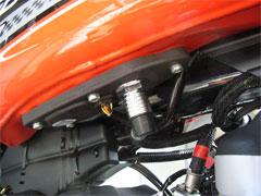 燃料系の配管周りも変更されています。