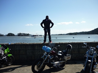 晴天の三連休の中日に松島に行って来ました!