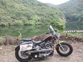 円良田湖も立ち寄ってみました。 (^^