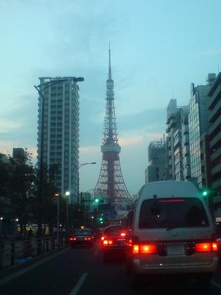 やっぱり東京タワーでしょ! (^o^)
