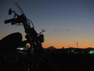 富士山の撮影してから帰りました。 (^-^)