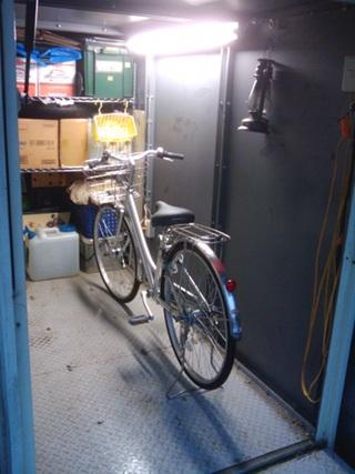 ちょこっと自転車の整備しました。 (^^;
