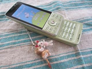 スマートフォン卒業しました。 (^^;