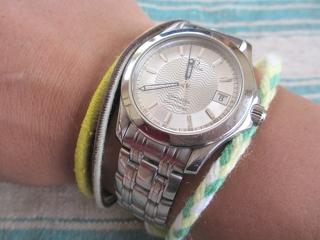 愛用の腕時計が戻って来ました。 (^o^)