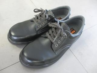 今の職場に合わせて耐油ソールの安全靴にしました。 (^^)