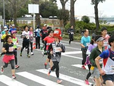 横浜マラソン仮装