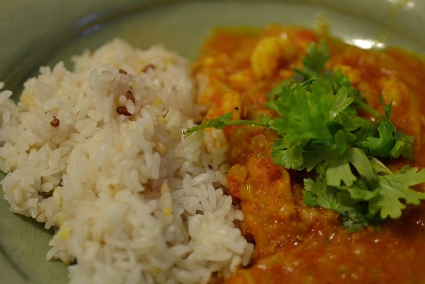 le2aout curry aux crevettes