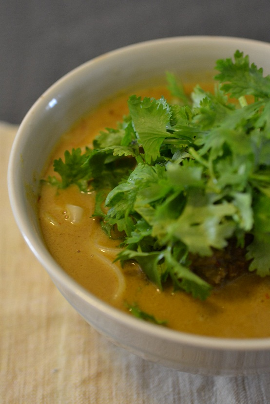 le20aout Kishimen sauce curry