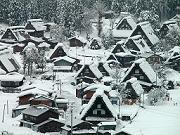 雪の白川郷