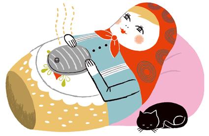 「湯たんぽ 犬 イラスト」の画像検索結果