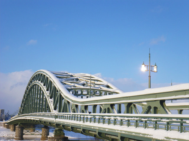 2017冬旭橋�