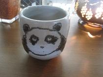猫のマグカップ