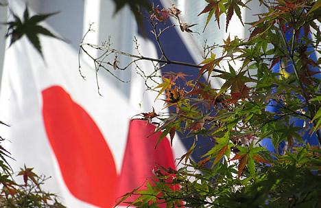 フランス 半旗