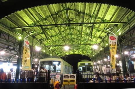 叡電ビール祭り