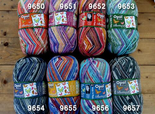 バタフライOPAL毛糸