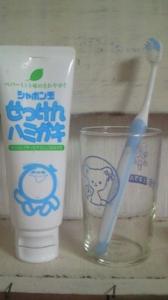 安心 歯磨き粉 子供