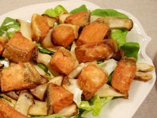 甘鮭のフライサラダ