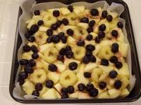 フルーツコブラー(フルーツケーキ)レシピ2