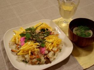ちらし寿司 ひなまつり2006
