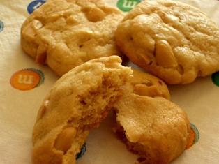 ピーナッツバタークッキー 060321-1
