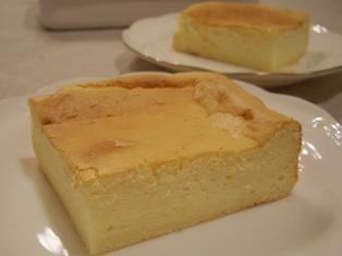 チーズケーキ メランジュールロボで作るお菓子