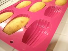 フォション シリコン製 焼き型 マドレーヌ