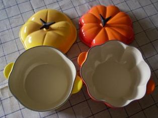 ココットトマトとココットパンプキンを比較 ルクルーゼ