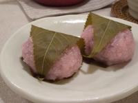 道明寺(桜餅)