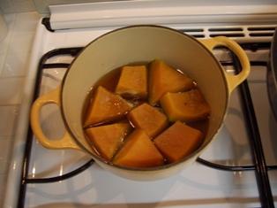 カボチャの煮もの