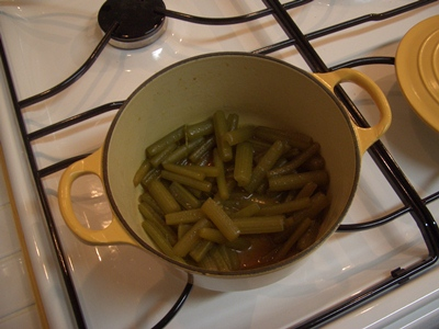フキの煮物