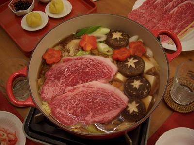 すき焼き ルクルーゼ ココットジャポネーズ24cm