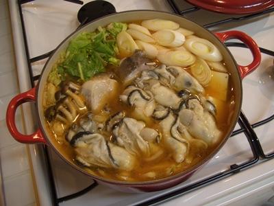 牡蠣鍋 ルクルーゼ ココットジャポネーズ