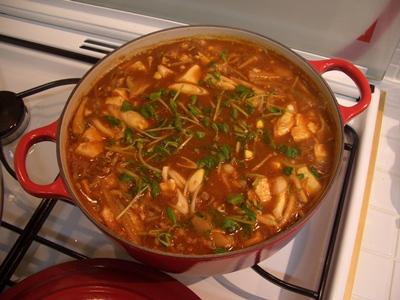 豆腐チゲ ルクルーゼ ココットジャポネーズ