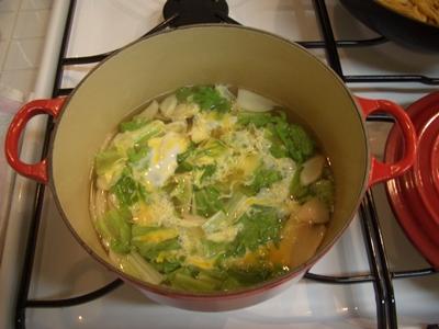 レタススープ ルクルーゼ ココットロンド20cm