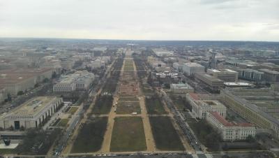 ワシントン記念塔東側