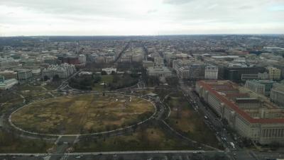 ワシントン記念塔北側