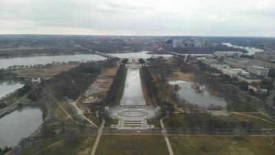 ワシントン記念塔西側
