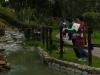 シモンボリバル公園にて