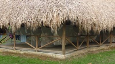 ハマカ(ハンモック)小屋