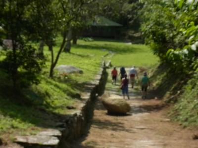 インディヘナの部落跡