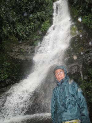 パストラ付近の滝