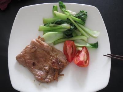 チンゲンサイ料理