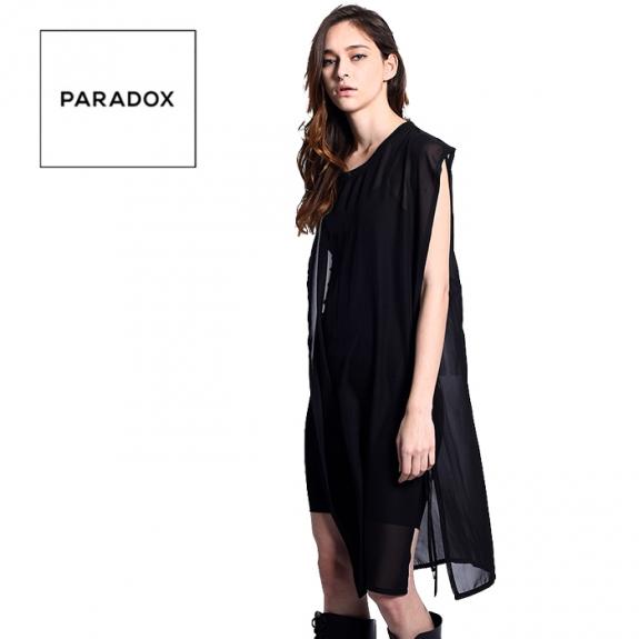 f6b98646a6024 PARADOX SEE THROUGH FABRIC (BLACK) ¥12