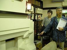 チェコキュビズムを説明する内田先生