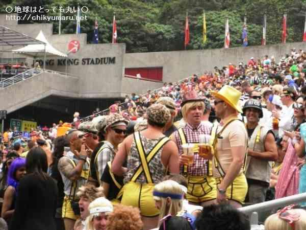 香港セブンスはお祭りラグビー